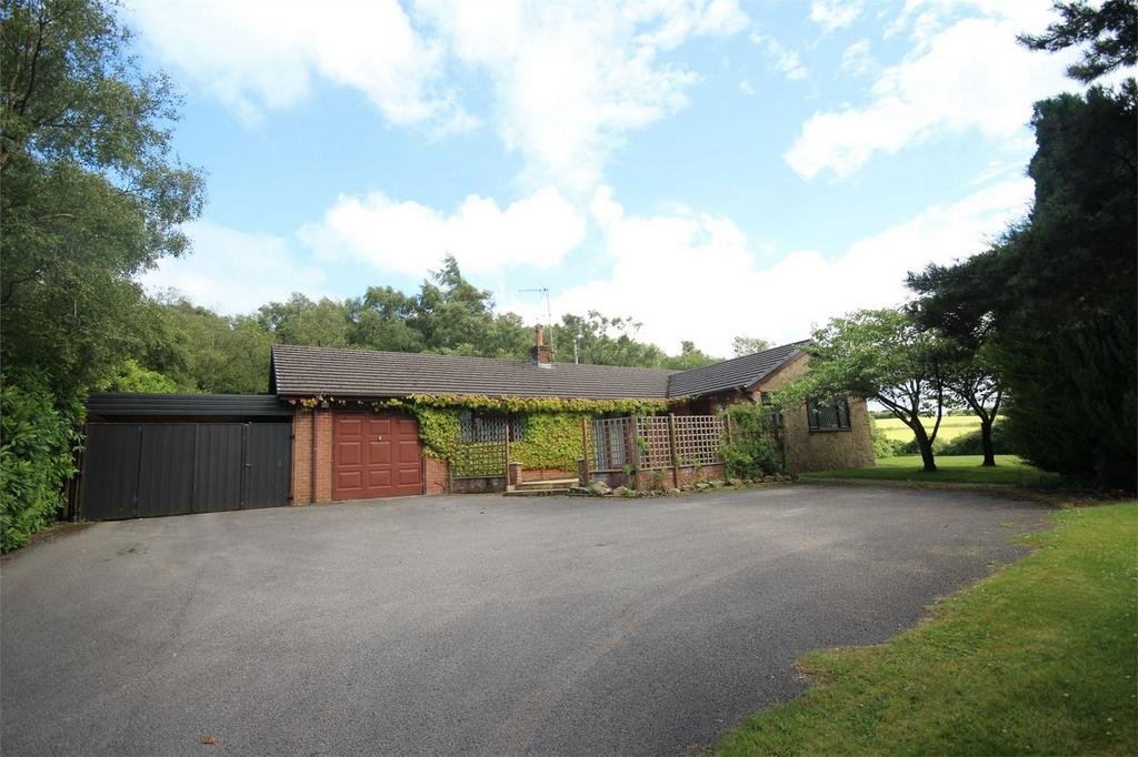 3 Bedrooms Detached Bungalow for sale in Ffordd Corwen, Rhydtalog, Mold, Flintshire