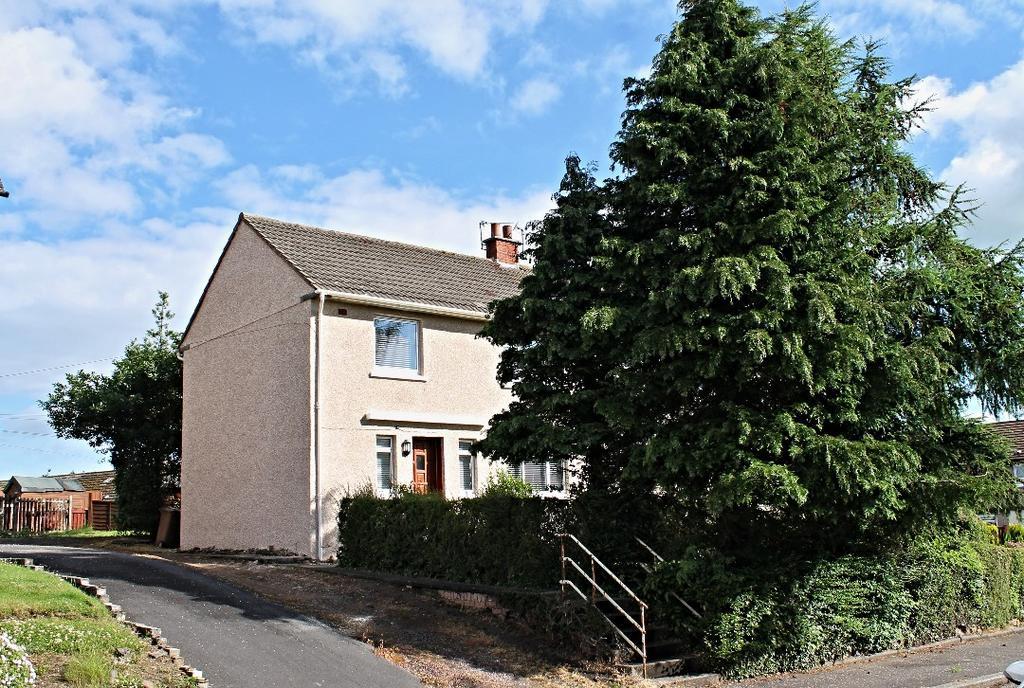3 Bedrooms Semi-detached Villa House for sale in Whitehill Crescent, Annbank, Ayr, Ayrshire, KA6 5EL