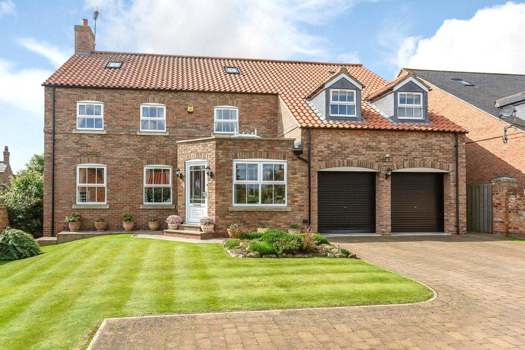 6 Bedrooms Detached House for sale in Canons Lodge, Hall Farm Court, Long Marston, Near Wetherby, YO26