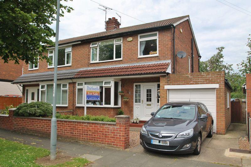 3 Bedrooms Semi Detached House for sale in Allendale Road, Billingham