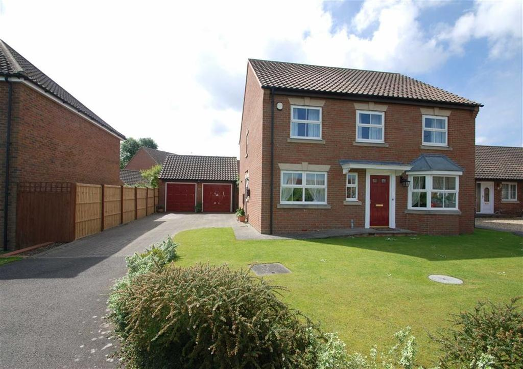 4 Bedrooms Detached House for sale in Harvester Way, Sibsey, Boston