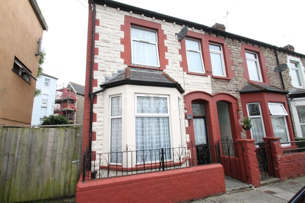3 Bedrooms End Of Terrace House for sale in Aldsworth Road, Canton