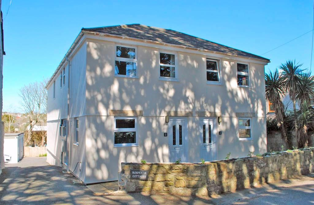 3 Bedrooms Semi Detached House for sale in Crowlas, Penzance, West Cornwall , TR20