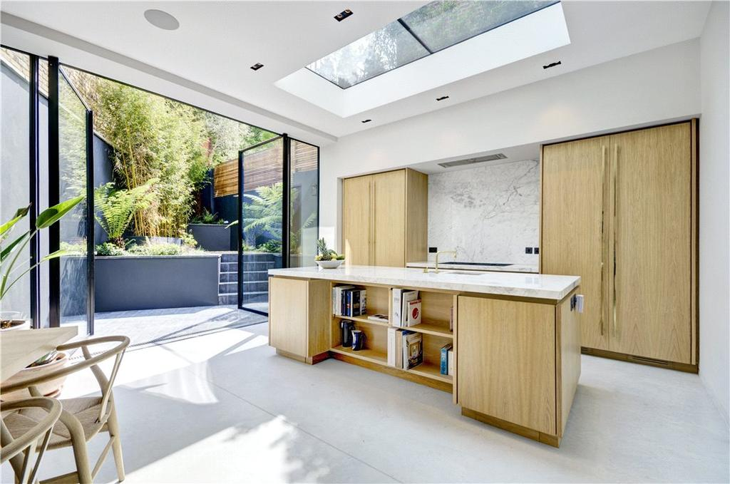 5 Bedrooms Semi Detached House for sale in St Marks Crescent, Primrose Hill, London, NW1