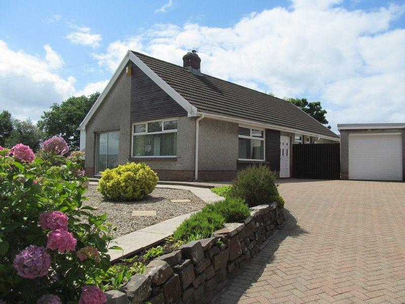 4 Bedrooms Detached Bungalow for sale in Maes Y Gwernen Road, Cwmrhydyceirw, Morriston, Swansea.