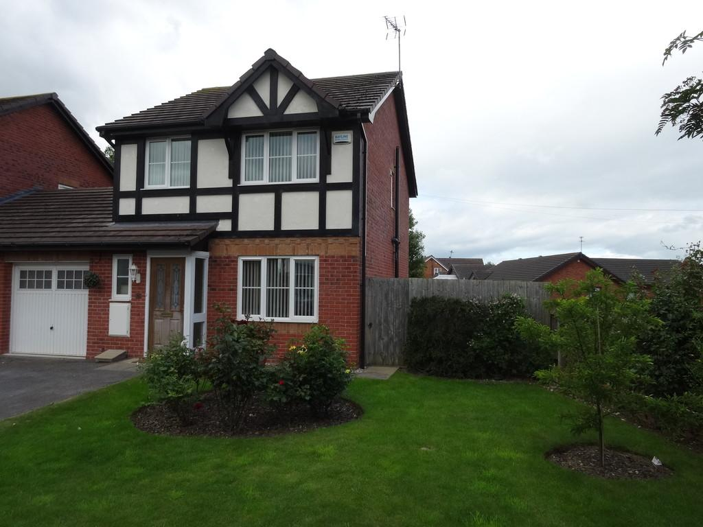 3 Bedrooms Link Detached House for sale in Llys Vyrnwy, Kinmel Bay