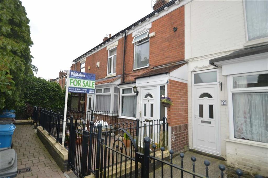 2 Bedrooms Terraced House for sale in Evas Avenue, Spring Bank West, Hull, HU3