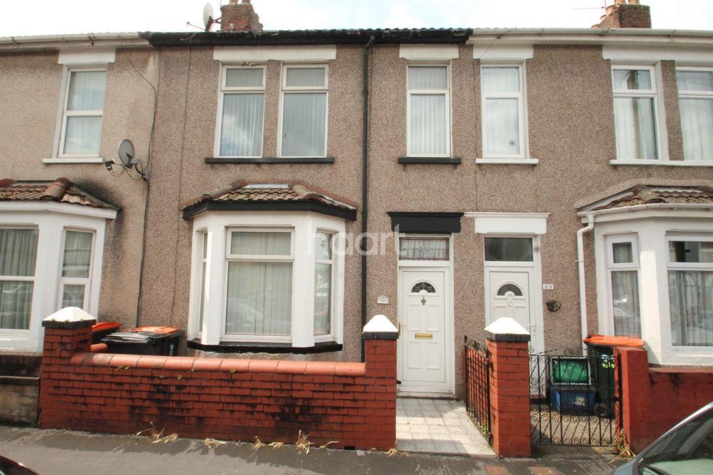 3 Bedrooms Terraced House for sale in Wolseley Street, Newport