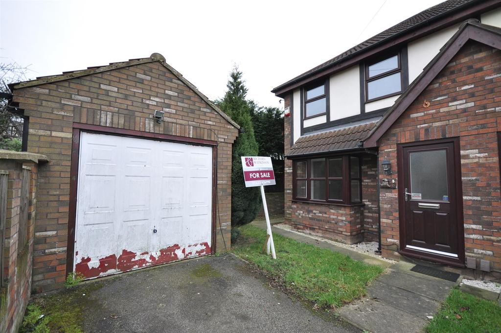 3 Bedrooms Semi Detached House for sale in Lincoln Drive, Mansfield Woodhouse