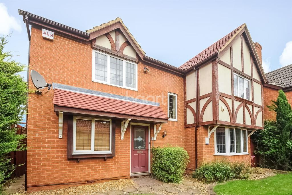 4 Bedrooms Detached House for sale in Borley Way, Teversham.
