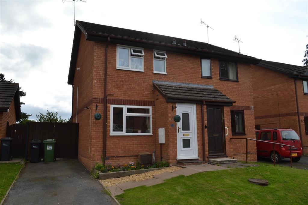 2 Bedrooms Semi Detached House for sale in The Mallards, Leominster