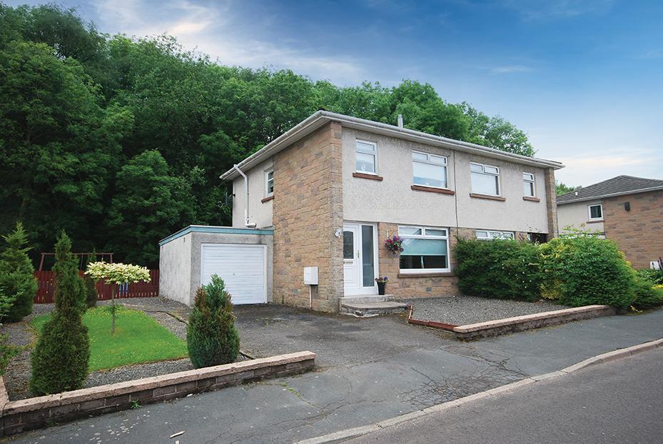 3 Bedrooms Semi-detached Villa House for sale in 26 Kings Drive, Cumnock, KA18 1AG
