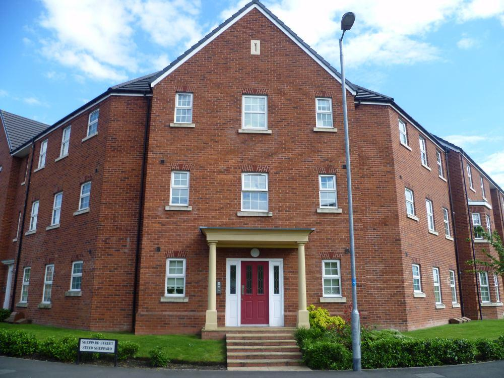 2 Bedrooms Apartment Flat for sale in John Wilkinson Court, Brymbo, Wrexham, LL11