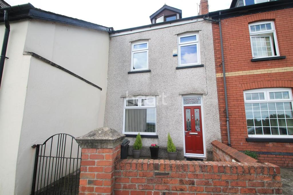 2 Bedrooms End Of Terrace House for sale in Isca Road, Caerleon, Newport