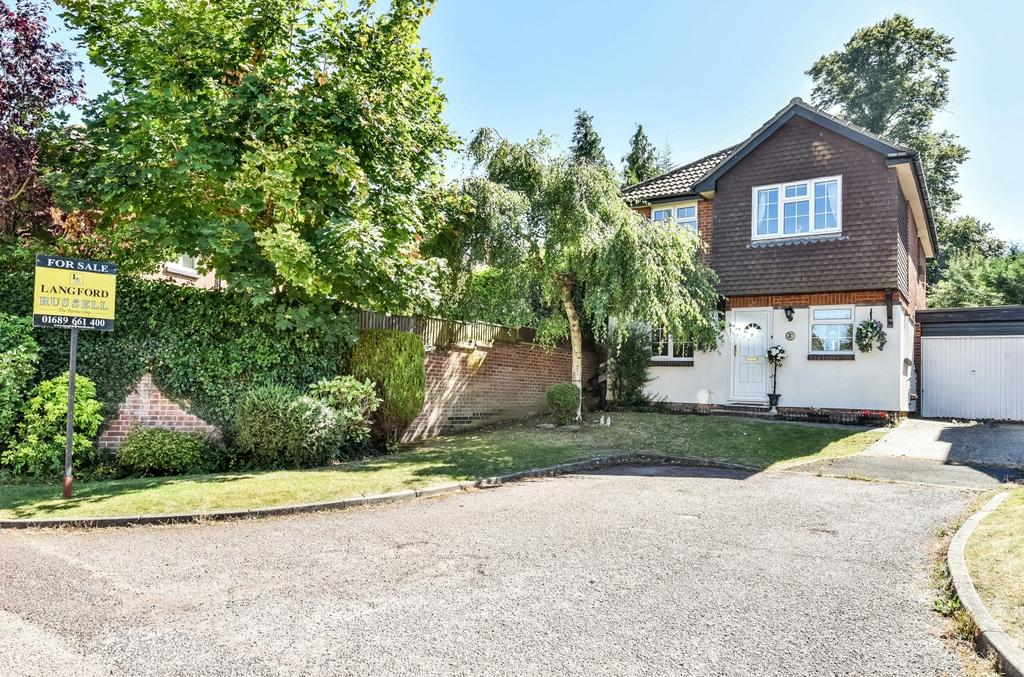 4 Bedrooms Detached House for sale in Amberley Close Orpington BR6