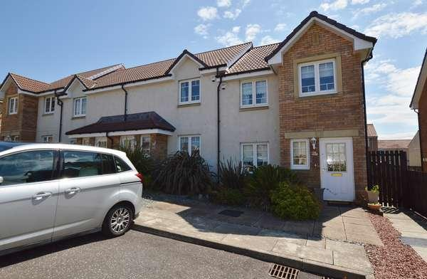 3 Bedrooms End Of Terrace House for sale in 24 Meiklelaught Place, Saltcoats, KA21 6GS