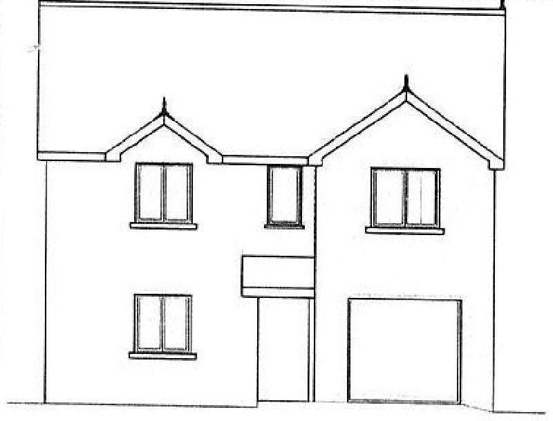 4 Bedrooms Detached House for sale in Plot 3 Ty Newydd Terrace, Cross Hands, Llanelli, Carmarthenshire.