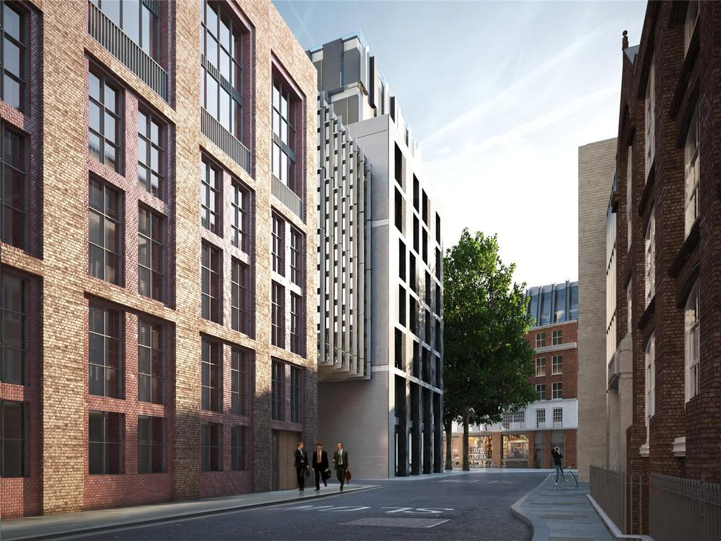 1 Bedroom Flat for sale in Barts Square, 56 West Smithfield, Smithfield Market, London, EC1A