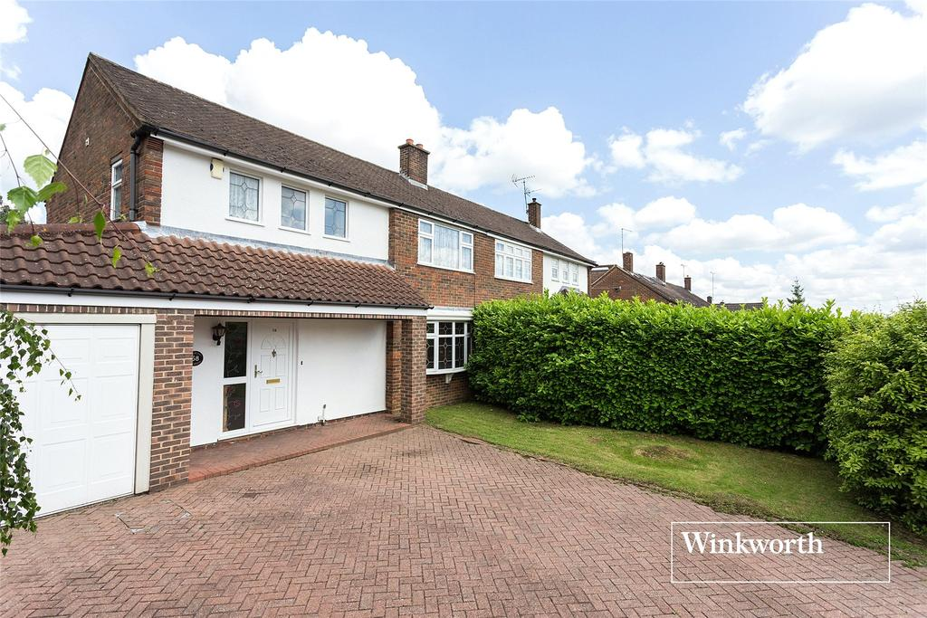 3 Bedrooms Semi Detached House for sale in Quinta Drive, Arkley, Barnet, EN5