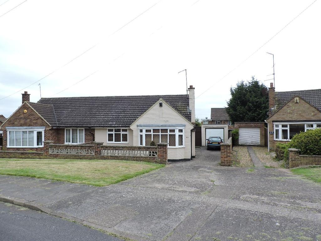 2 Bedrooms Bungalow for sale in Quantock Crescent, Duston