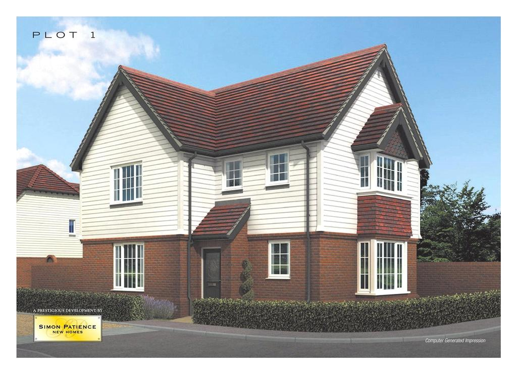 3 Bedrooms Detached House for sale in 1 Gills Green Courtyard, Cranbrook Road, Gills Green, Cranbrook, TN18