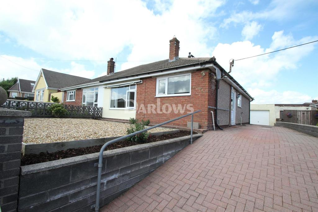 2 Bedrooms Bungalow for sale in Hospital Road, Penpedairheol
