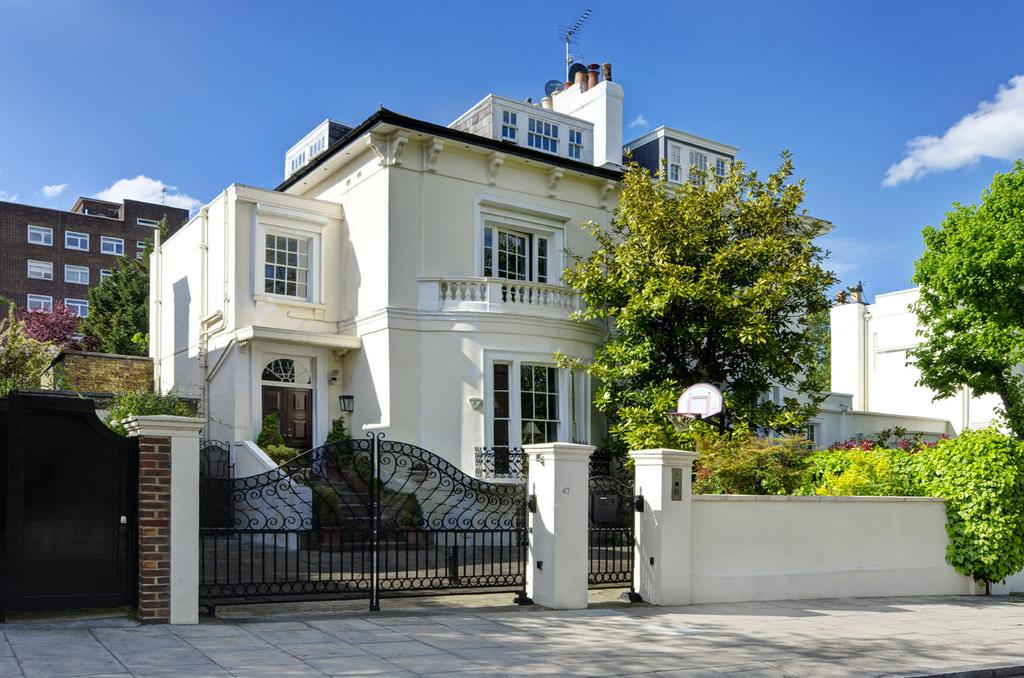 5 Bedrooms Semi Detached House for sale in Queens Grove, St Johns Wood