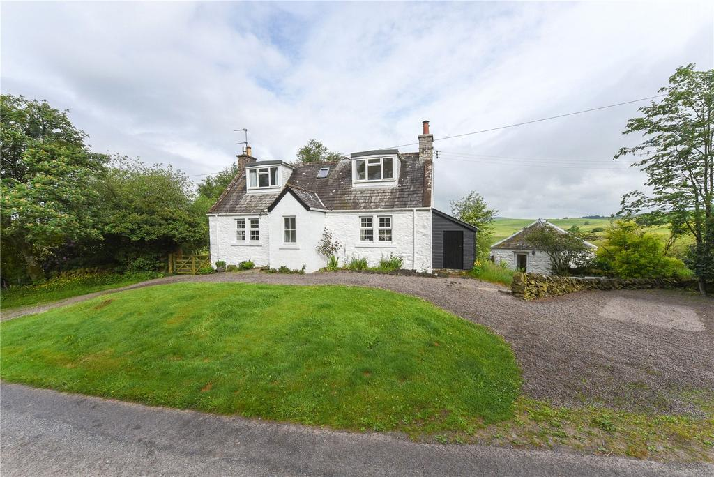 3 Bedrooms Detached House for sale in Auchenhay Cottage, Corsock, Castle Douglas, Dumfries and Galloway, DG7