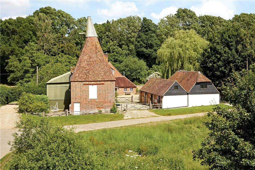 5 Bedrooms Farm House Character Property for sale in Bedgebury Road, Goudhurst, Cranbrook, Kent, TN17