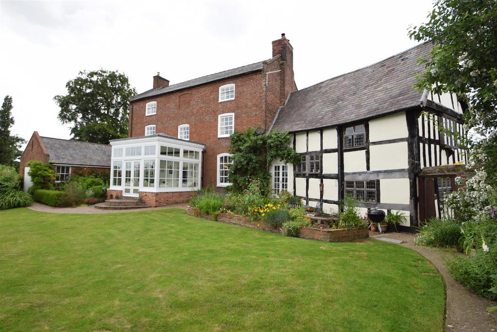 7 Bedrooms Detached House for sale in The Red House, Edge, Nr Yockleton, Shrewsbury, SY5 9PY