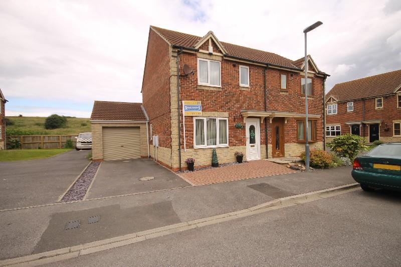 3 Bedrooms Semi Detached House for sale in Intrepid Close, Hartlepool