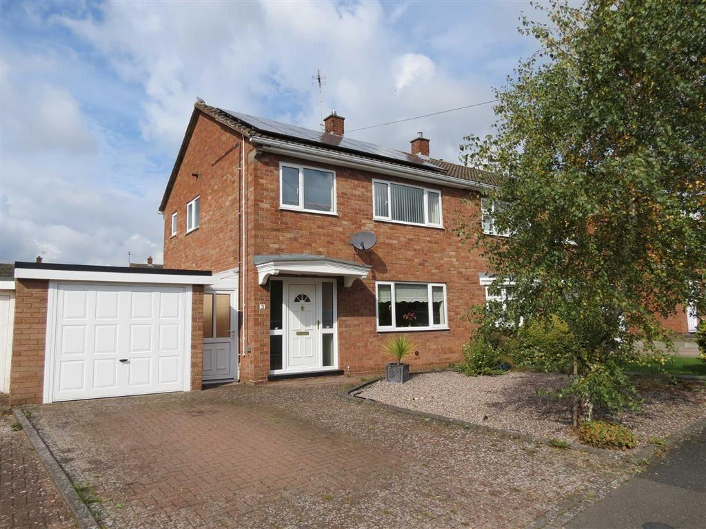 3 Bedrooms Semi Detached House for sale in Stokesay Avenue, Heath Farm, Shrewsbury, Shropshire