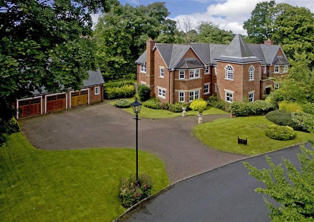 5 Bedrooms Detached House for sale in Ash Hill Lodge, 9, The Burrow, Ash Hill, Wolverhampton, West Midlands, WV3