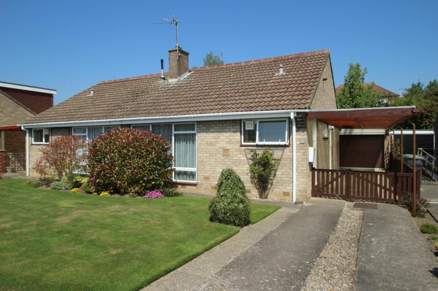 3 Bedrooms Semi Detached Bungalow for sale in ALLENDALE, YORK, YO24 2SF