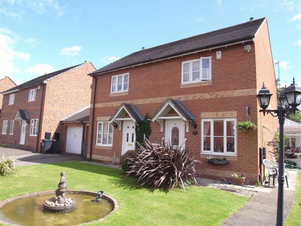 2 Bedrooms Semi Detached House for sale in Brawton Grove, Darlington