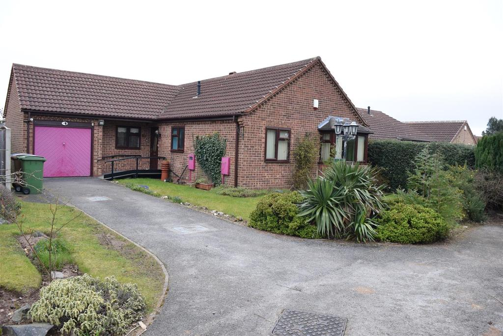 2 Bedrooms Detached Bungalow for sale in Birchcroft Drive, Mansfield Woodhouse