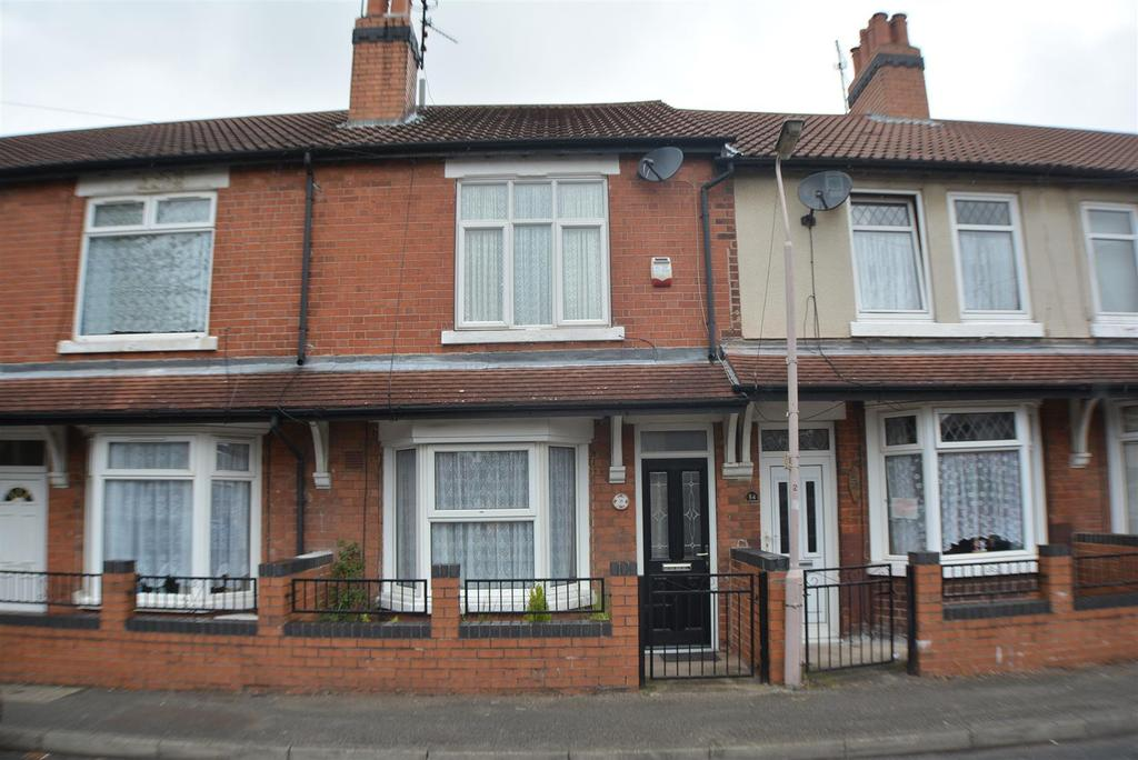 3 Bedrooms Terraced House for sale in Redcliffe Road, Mansfield