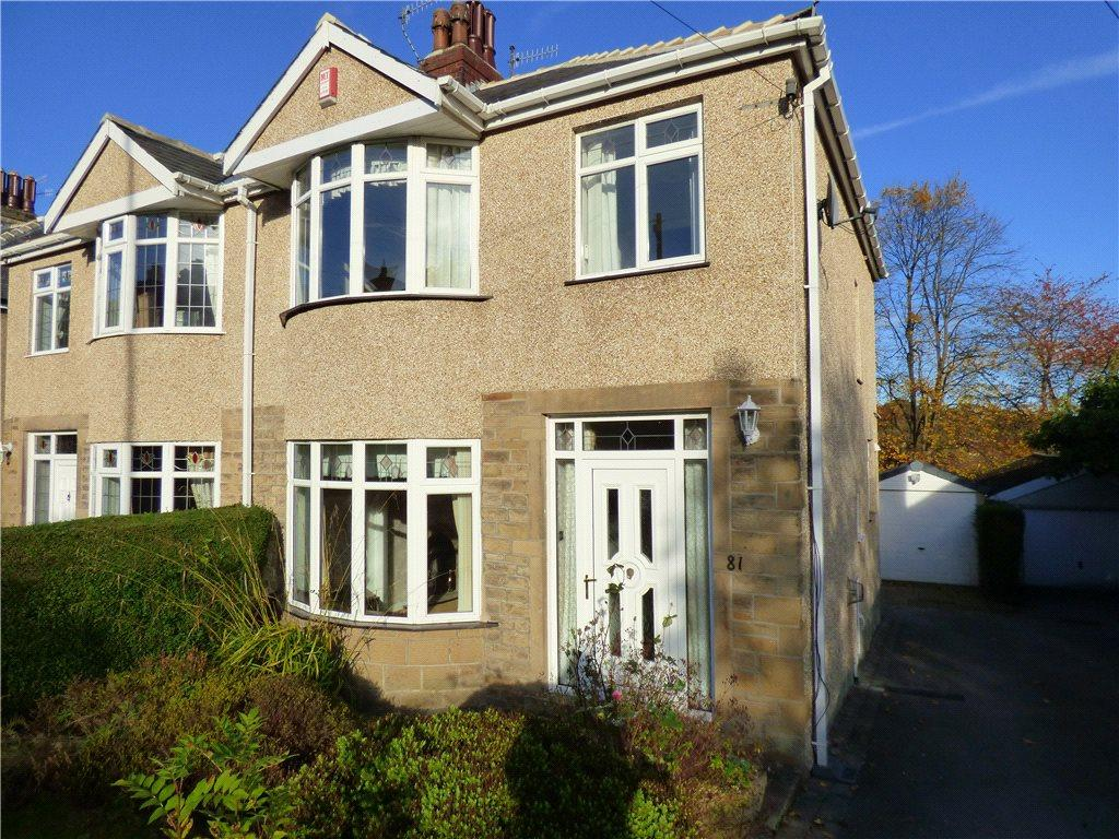 3 Bedrooms Semi Detached House for sale in Baildon Road, Baildon, West Yorkshire