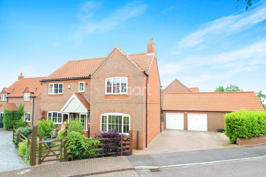 5 Bedrooms Detached House for sale in Moorland Close, Carlton-le-Moorland, Lincoln, LN5