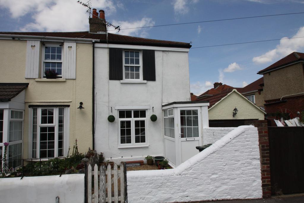 2 Bedrooms Semi Detached House for sale in Suffolk Cottages, Mayfield Road, Gosport PO12