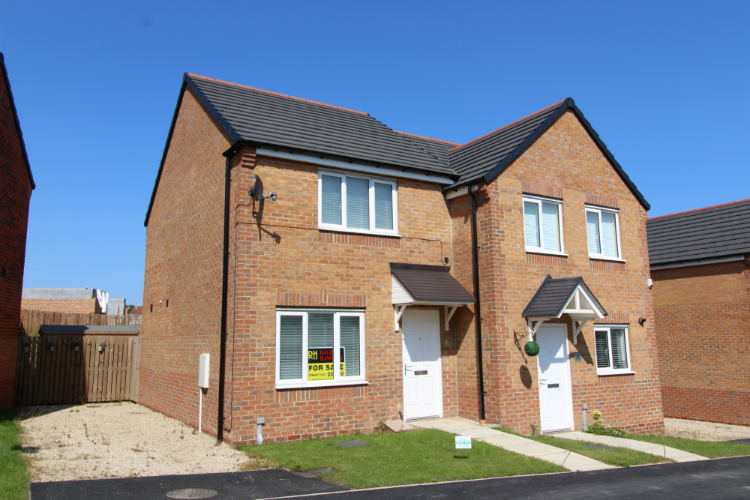 2 Bedrooms Semi Detached House for sale in Hedley Close, New Kyo, Stanley DH9