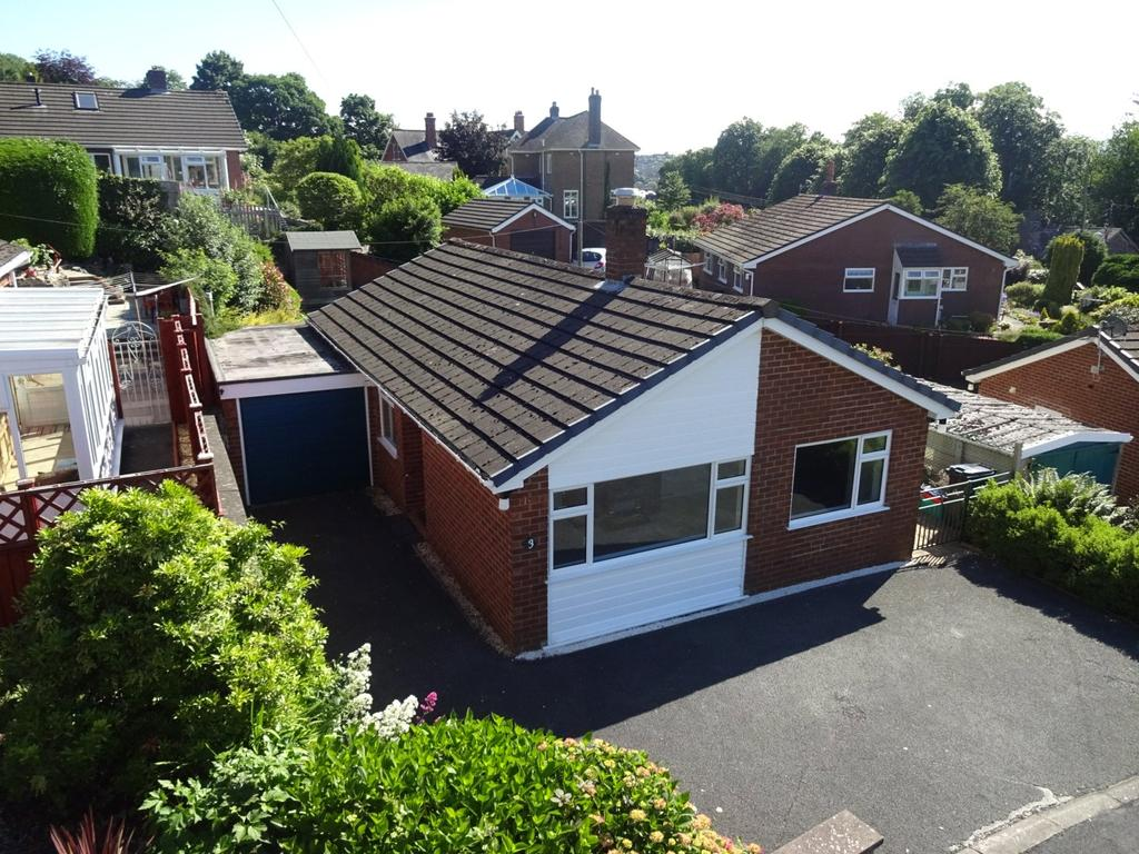 3 Bedrooms Detached Bungalow for sale in Brynwood Drive, Newtown, Powys