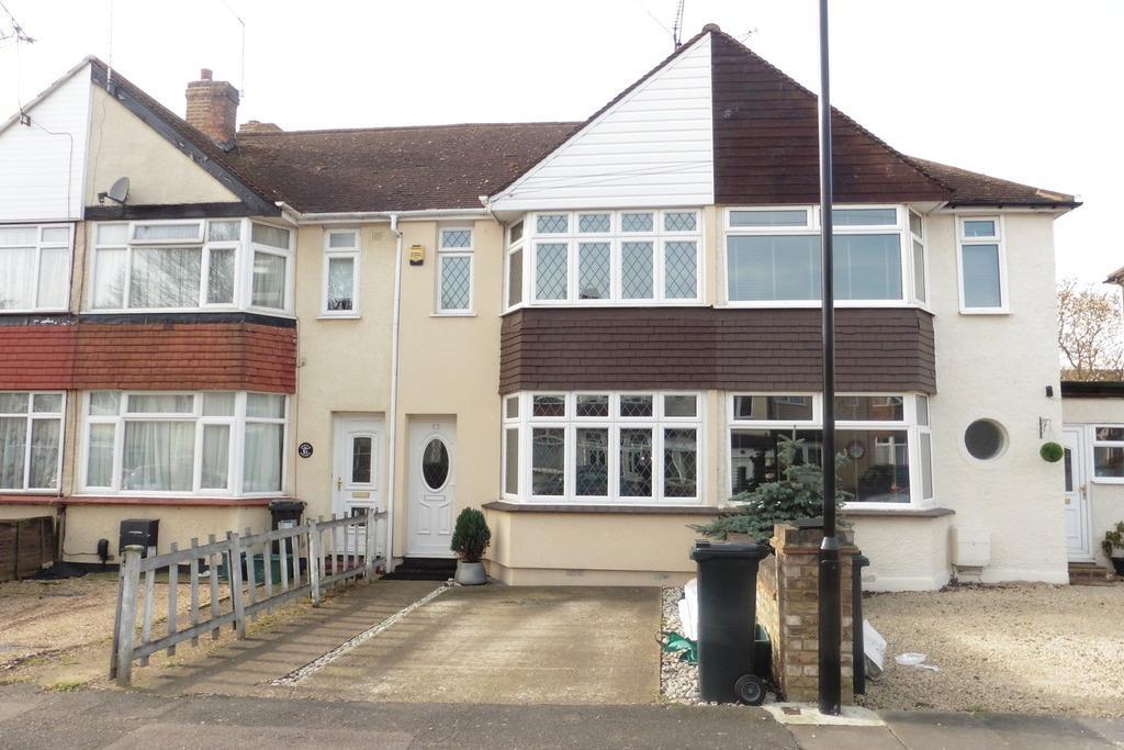 2 Bedrooms Terraced House for sale in Cravan Avenue, Feltham, TW13