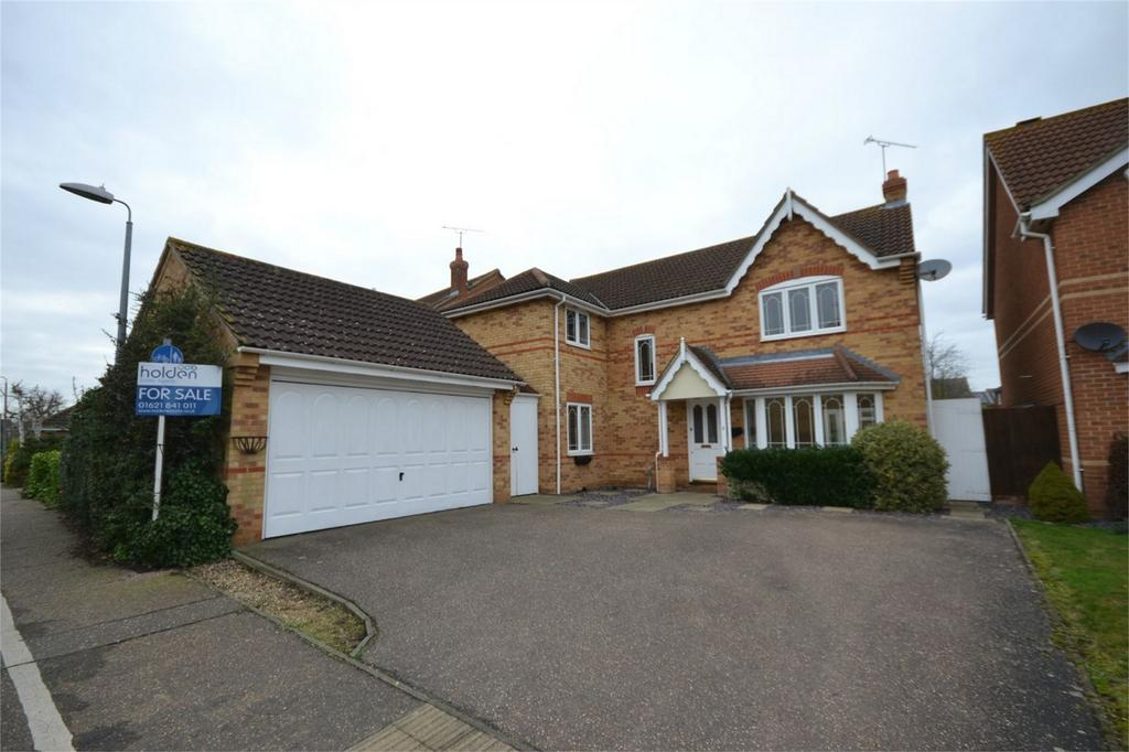 4 Bedrooms Detached House for sale in Johnston Way, Maldon, Essex