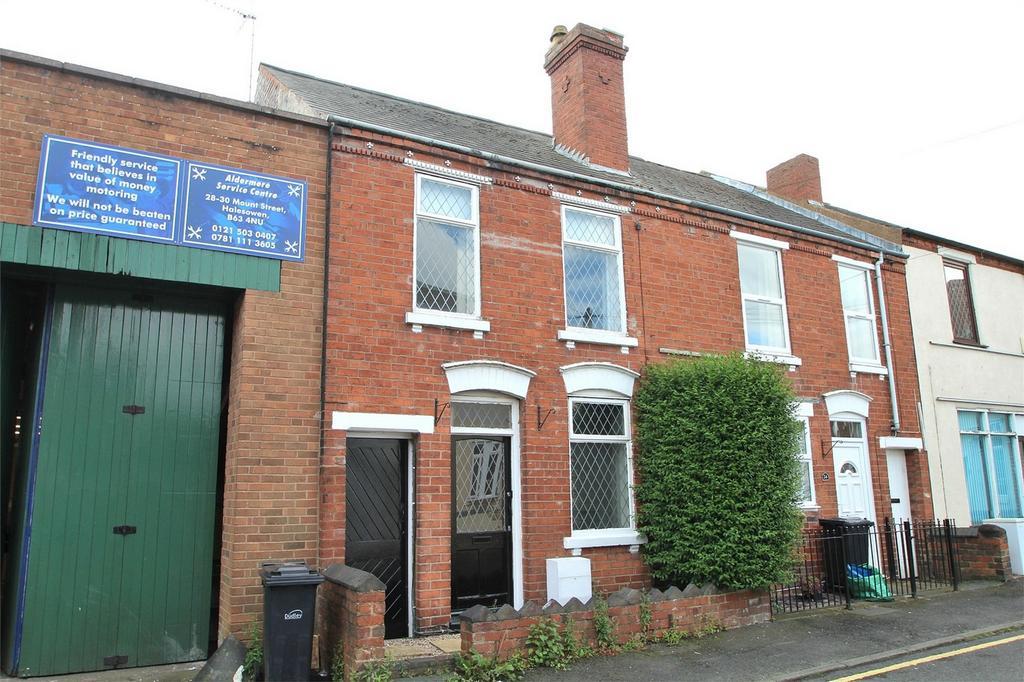 3 Bedrooms Terraced House for sale in Mount Street, HALESOWEN, West Midlands