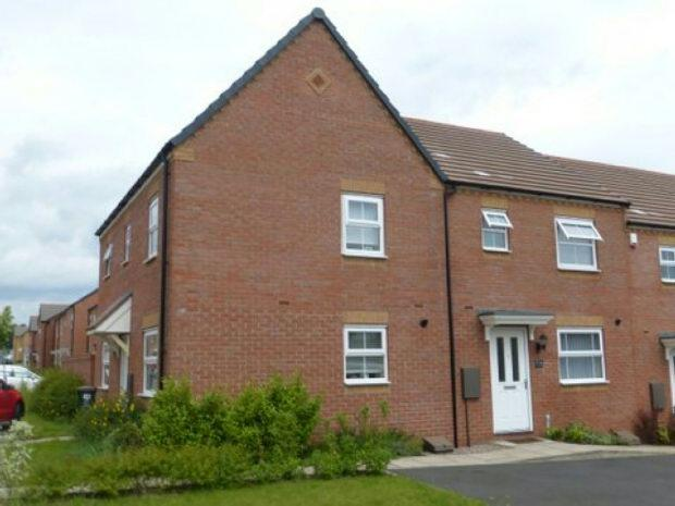 3 Bedrooms Terraced House for sale in Lyons Drive, Swallows Nest, Allesley, Coventry