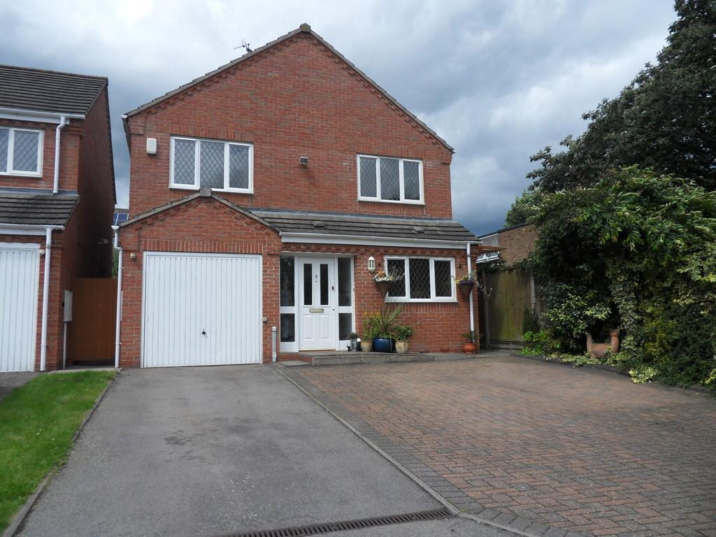 4 Bedrooms Detached House for sale in Orton Road, Earl Shilton
