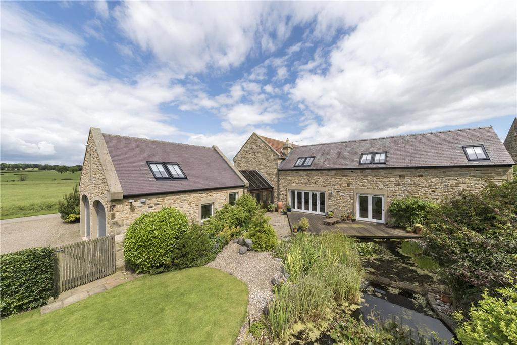 4 Bedrooms Detached House for sale in Whalton, Morpeth, Northumberland