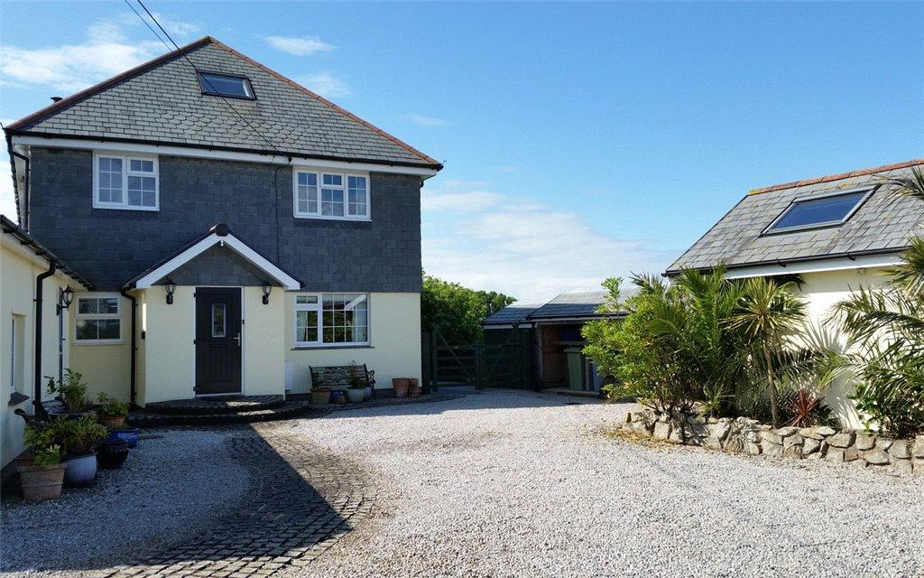 5 Bedrooms Detached House for sale in Chy an Huder, Cury, Lizard Peninsula, Cornwall