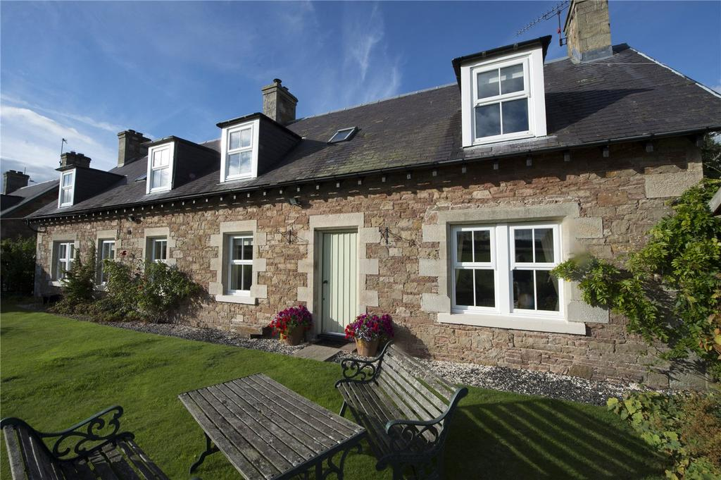 4 Bedrooms Detached House for sale in Rose Cottage, Oxnam Row, Oxnam, Jedburgh, Scottish Borders
